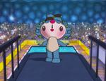 福娃跳水表演