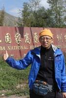 28日:张朝阳抵达西宁