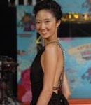 桂伦美典雅黑色长裙