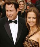约翰屈伏塔和妻子