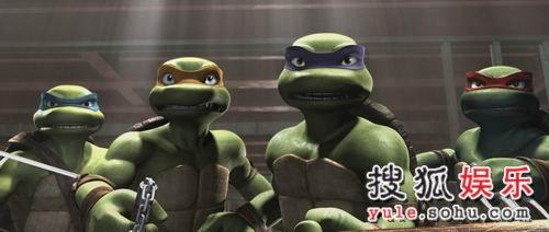 图:《忍者神龟》剧照欣赏—4