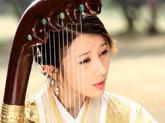 刘兰芝竖琴弹唱