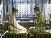 刘兰芝焦仲卿居室中交谈