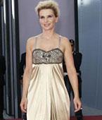 比诺什:金色吊带裙-浪漫