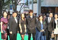 第23届东京电影节-《观音山》剧组全体主创