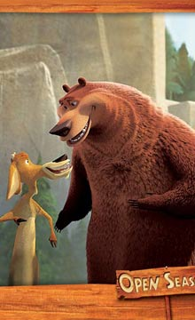 美喜剧动画片《丛林大反攻》精致人物画报