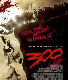 《斯巴达300勇士》海报