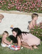 布兰妮和两个儿子