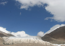美丽的玉珠峰及南坡冰川